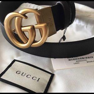 Authentic Big GG Gucci reversible belt